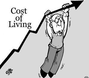 Cost of living and dying continues to rise