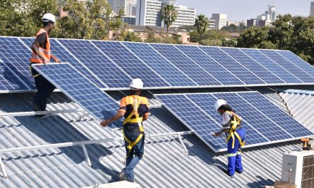 Econet's DPA opens 466kW solar plant