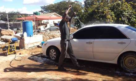 Interview with the owner of Wash My Ride: Panashe Kativu