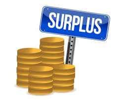 Government posts 3rd consecutive surplus.