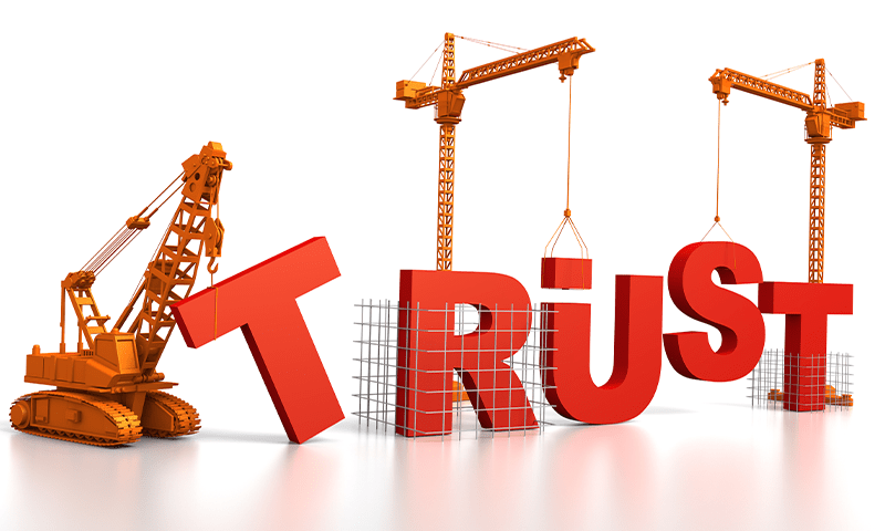 How to establish trust with your potential customers