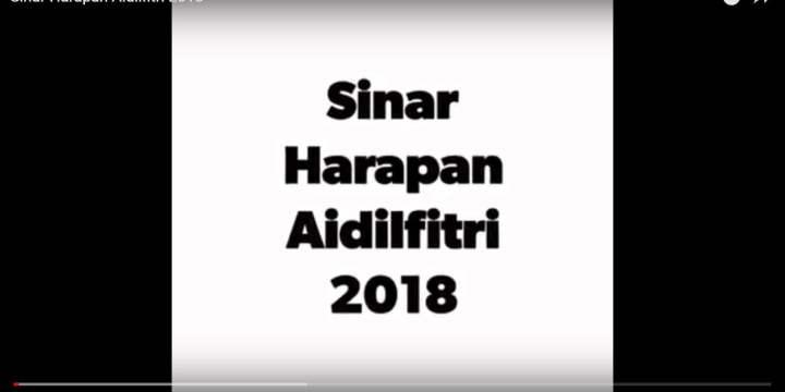 Sinar Harapan Aidilfitri 2018