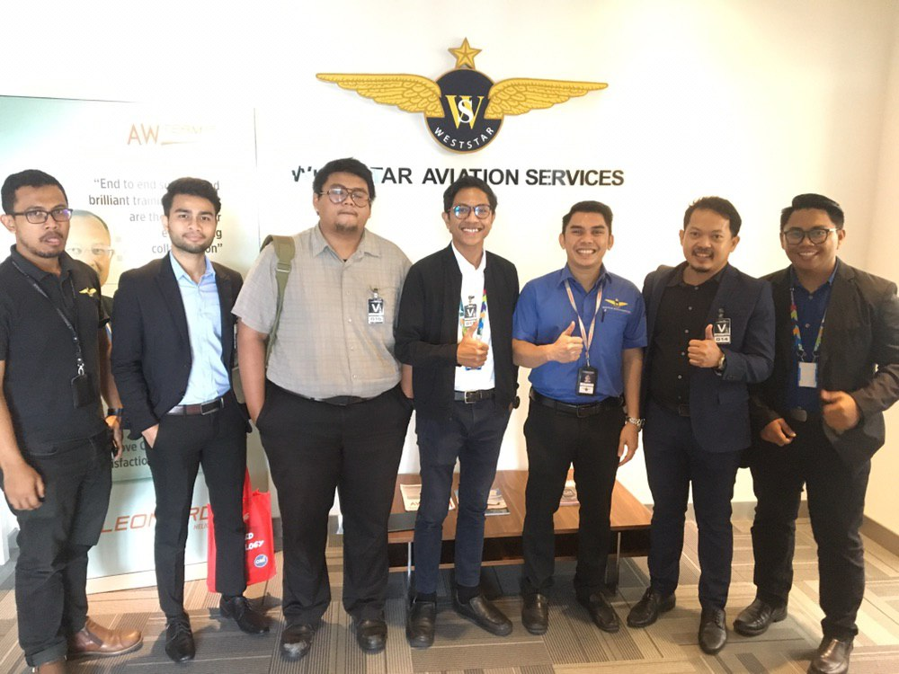 IAViC2019 Visit To Weststar Aviation
