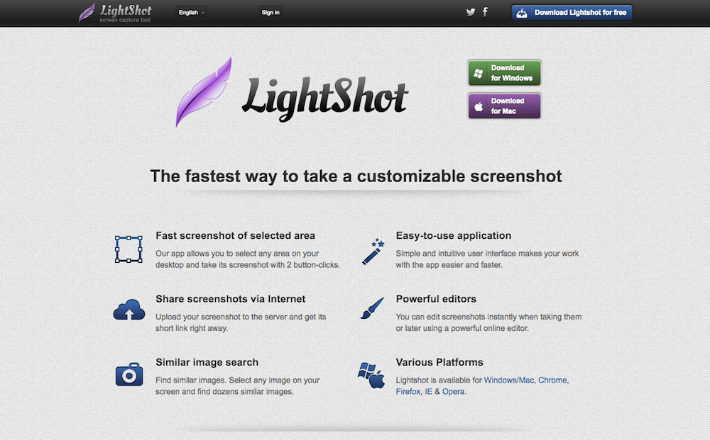 LightShot - Startup Collections