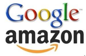 Google Amazon Logos