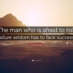 Risk and Failure Can Be Keys to Success
