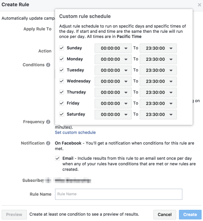 Facebook ads power editor