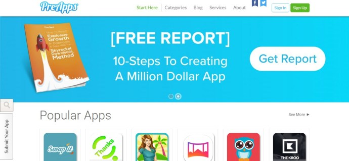 PreApps - Upcoming apps for Android. iPhone, iPad and Windows. Desktop and mobile app beta testing sites
