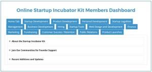 online/virtual startup incubator/accelerator