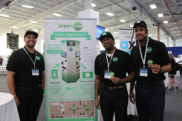 GreenSTOP smart dispensary - ascent tech conference 2018