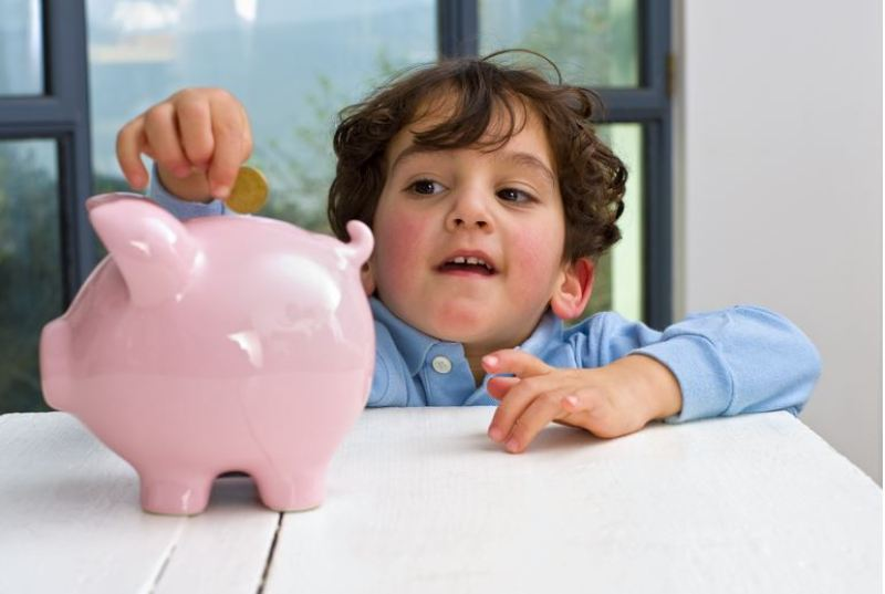 Piggybank Complete Chores to earn allowance parents and kids