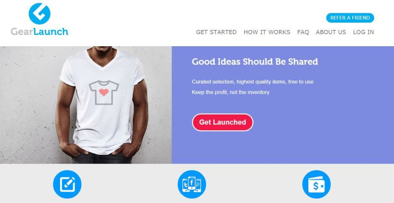 GearLaunch Makes Customizing Apparels & Accesories Easy!