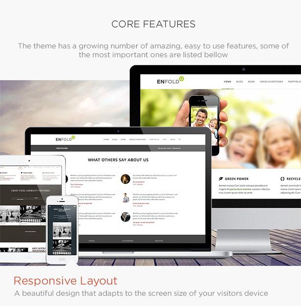 Enfold business wordpress  theme
