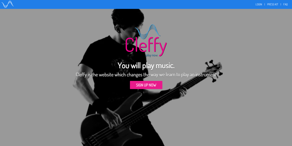 Cleffy review homepage