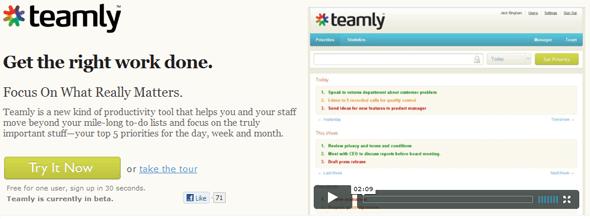 Teamly- Featured on StartUpLift