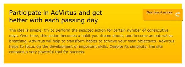 Advirtus - StartUp Featured on StartUpLift