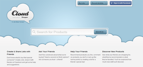 Cloud Shopper - Startup Featured on StartUpLift