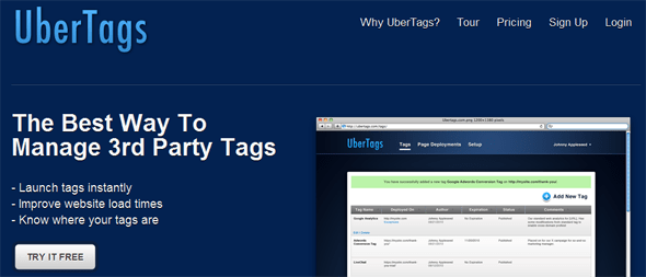 Ubertags - Startup Featured on StartUpLift