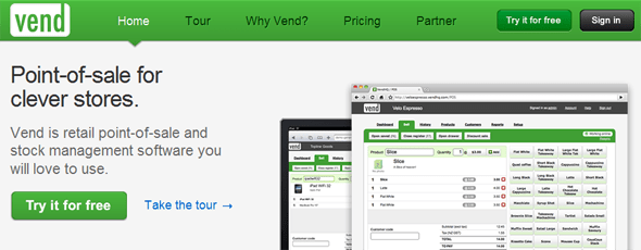 Vend - StartUp Featured on StartUpLift