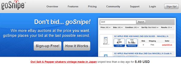 goSnipe - Featured on StartUpLift