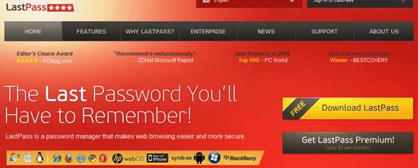 LastPass - Startup featured on StartUpLift