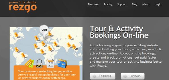 Rezgo - StartUp Featured on StartUpLift