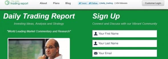 DailyTradingReport Startup Featured on StartUpLift