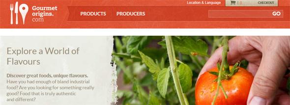 GourmetOrigins - startup Featured on StartUpLift