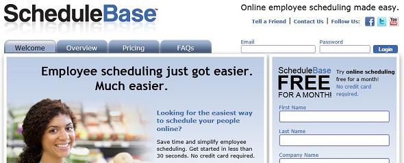 ScheduleBase - Startup Featured on StartUpLift
