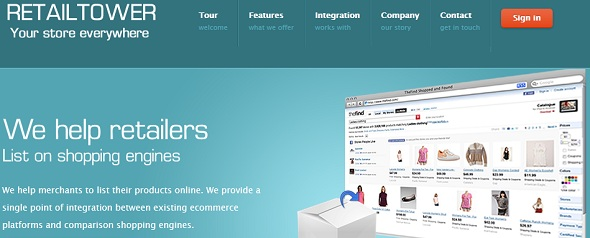 RetailTower - startup featured on StartUpLift for website usability test and website feedback