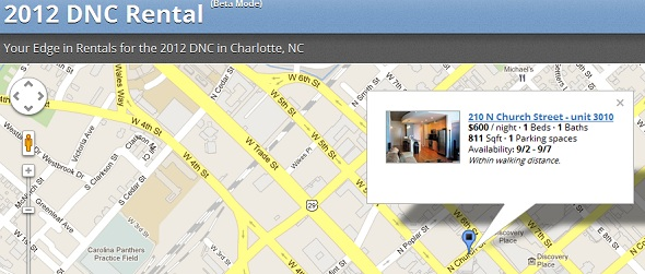 2012dncrental - startup Featured on StartUpLift for Startup Feedback and Website Feedback