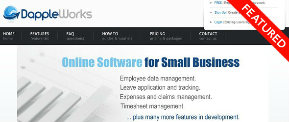 DappleWorks - startup featured on StartUpLift for Startup Feedback and Website Feedback