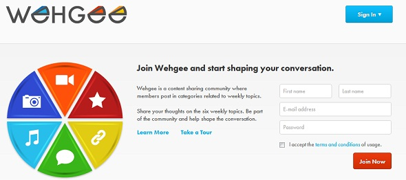 WehGee - startup featured on StartUpLift for Startup Feedback and Website Feedback