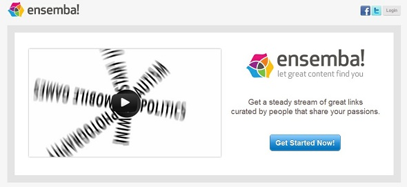 ensemba - startup featured on startuplift for website feedback and startup feedback