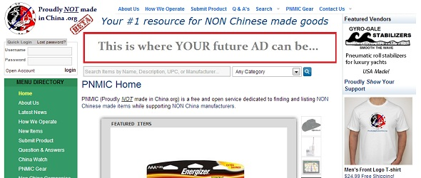 ProudlyNotMadeInChina - startup featured on startuplift for website feedback and startup feedback