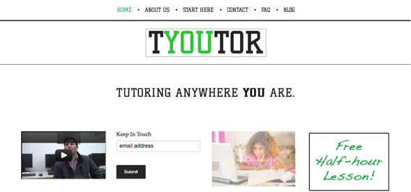 TYOUTOR - startup-featured-on-StartUpLift-for-Startup-Feedback-and-Website-Feedback