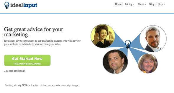 idealInput-startup-featured-on-StartUpLift-for-Startup-Feedback-and-Website-Feedback