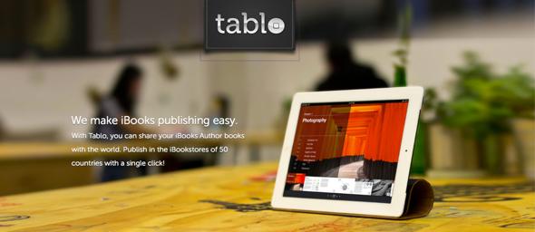 tablo - iBook Publishing - startup featured on startuplift for website feedback & startup feedback.jpg
