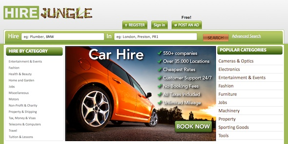 HireJungle - startup featured on startuplift for website feedback & startup feedback