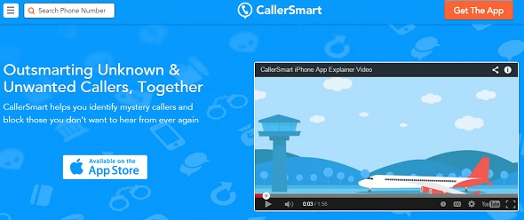CallerSmart - startup featured on StartUpLift for startup feedback and website feedback