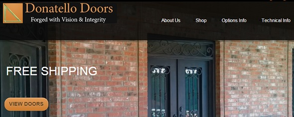 Donatello Doors 2014 - startup featured on StartUpLift for startup and website feedback