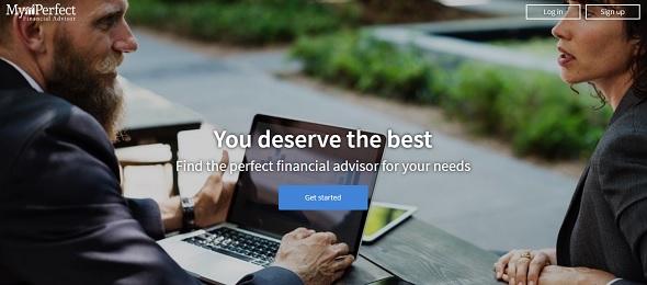 myPerfectFinancialAdvisor - startup featured on StartUpLift