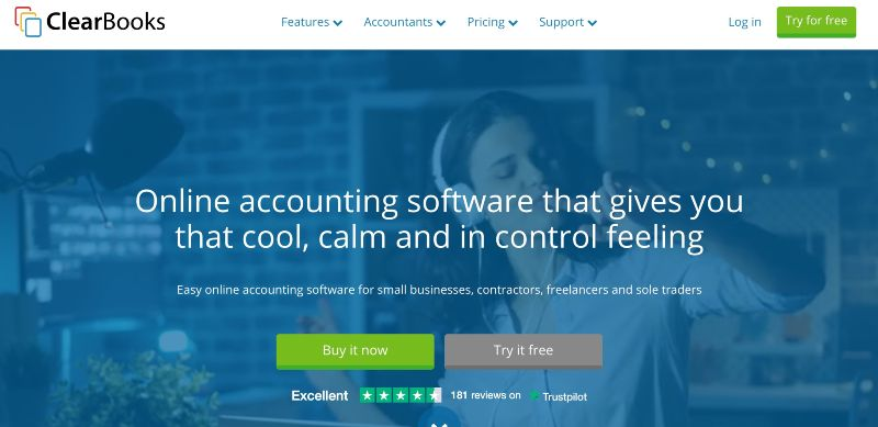 ClearBooks - One Of  The Best Accounting Software for Startups (& Small Businesses)