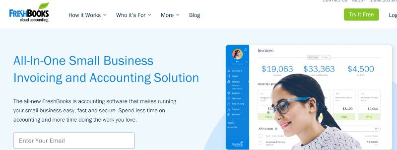 FreshBooks - One Of The Best Accounting Software for Startups (& Small Businesses)