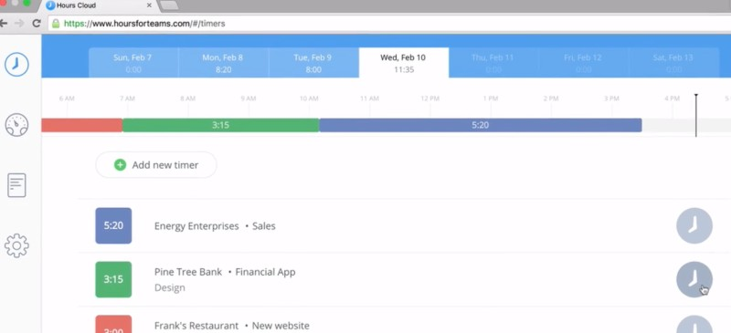 Hours -  One Of The Best Remote Employee Monitoring Software
