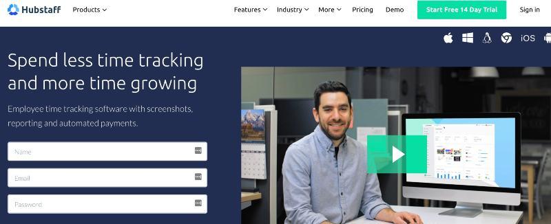 HubStaff  - Best Remote Employee Monitoring Software