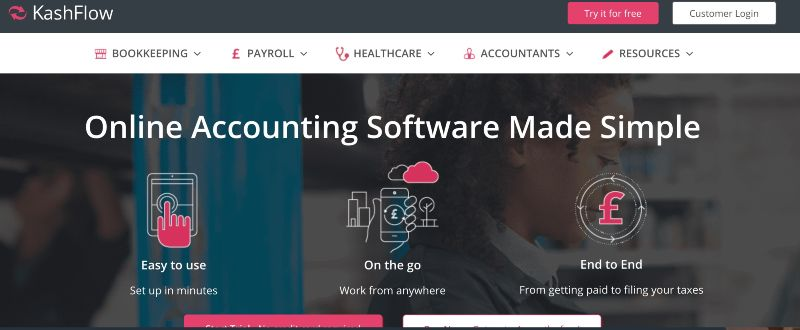 Kashflow - One Of The Best Accounting Software for Startups (& Small Businesses)