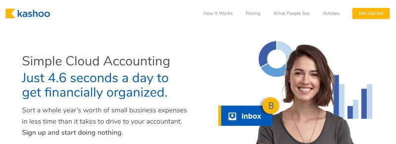 Kashoo - One Of  The Best Accounting Software for Startups (& Small Businesses)