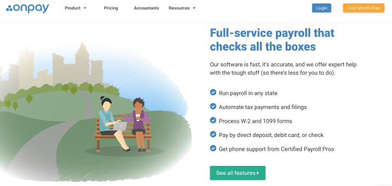 Onpay - Best Online Payroll Provider for Small Business