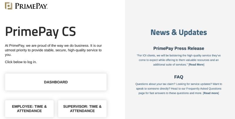 PrimePay  - Best Online Payroll Provider for Small Business